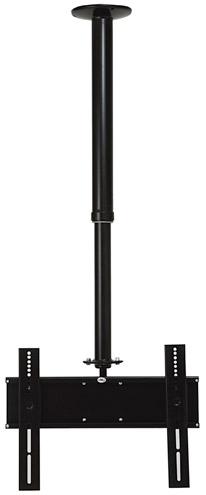Suporte Teto – Telescópico p/ Tv Plasma / LCD - 26´, 27´ e 32´ - 318 PF- Preto Fosco - Metavila