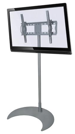 Pedestal de Chão para Tvs Lcd/Plasma/Led de 32 a 52 Multivisão Unipró 200 Prata