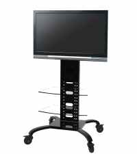 Rack Brasforma Sbrr0.2 para Tv de 37 a 60 com Rodas