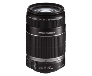 OBJETIVA ZOOM ORIGINAL CANON EFS 55-250MM F/4-5.6 IS
