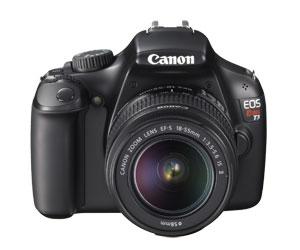 Cam. Digital Reflex 12,2Mp Lcd 3 com Lente 18-55mm Is Ii