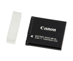 Bateria Recarregável para Câmera Canon Powershot A3100 e A3000 Nb8L