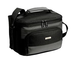 Bolsa com Alça de Mão/Ombro para Filmadora e Acessórios