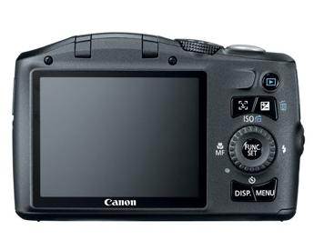 CÂM DIG CANON 12,1 MP, LCD 3´´ , ZOOM ÓPTICO 12 X , WIDE 28MM E IS - SX130IS