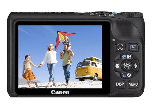 Câmera Digital Canon A2200 Cod. 46Ra2200Bk00 Resolução de 14,1 Mpixel Display de 2,7