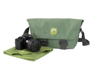 Bolsa p/ Câmera Digital em Material Reciclado Lowepro - TERRACLIME 100 - LP35287 / LP35288 / LP35289