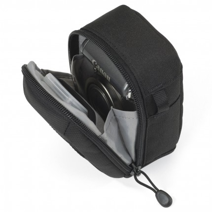 Estojo Lowepro p/ Câmera Digital Compacta e Acessórios Geneva 30 - c/ Bolso Frontal