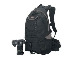 Mochila para Câmera Digital Profissional 2 Compartim Lowepro Linha Rover Aw Ii Lp98400