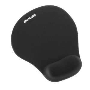 Mousepad Gel Preto Multilaser Ac021
