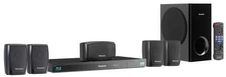 Blu-Ray Theater System Panasonic Sc-Btt270Phk 1000W Rms Conversor 3D 5.1 Ch Viera Cast