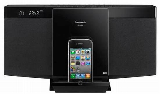 Micro System Panasonic Sc-Hc55Pu-K 40W Bt Usb Playback Made For Pod/Phone