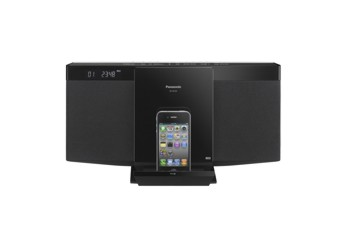 Micro System Panasonic Sc-Hc25Pu-K 10W Usb Cd/Mp3 Pod/Phone