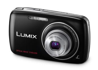 Câmera Digital Panasonic Lumix Dmc-S1Lb-K 12.1Mp Lcd 2,7 4x Óptico Hd e Cartão 2gb