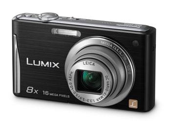 Câmera Digital Panasonic Lumix Dmc-Fh25Lb-K 16Mp Lcd 2,7 8x Óptico Hd e Cartão 4gb