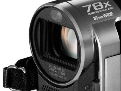 FILMADORA Panasonic - SDR-T71LB-K - Memória Interna 4 Gb, 1 CCD, 78 x Zoom e estabilizador óptico de imagem, Modo IA, iluminação
