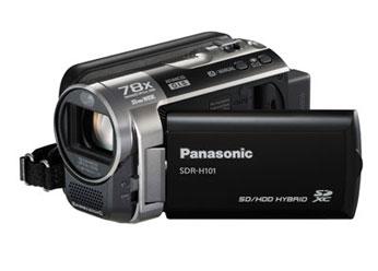 Filmadora Panasonic Sdr-H101Pu-K Hdd 80gb 1 Ccd 78x Zoom Estabilizador
