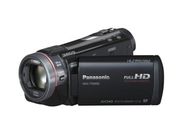 Filmadora Panasonic Hdc-Tm900Puk Full Hd 3D Compatible 14.2Mp 3.5 Lcd Touch 32gb Memory