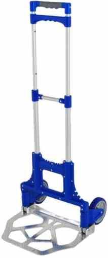 Carrinho dobrável Menno FHC70 A - Azul capacidade 70Kg