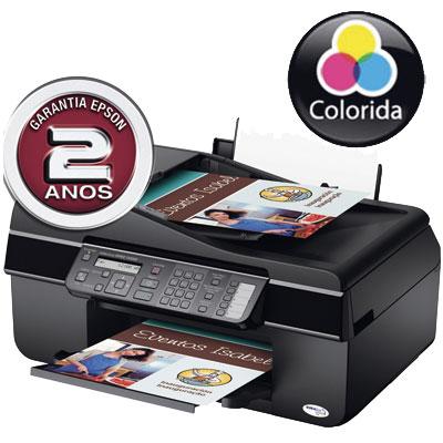 Multifuncional Epson Tx300F Impressora Scanner Copiadora Fax