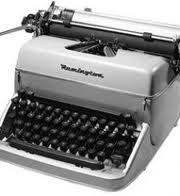 Máquina de Escrever Remington Bj Reformada Raridade Antiga