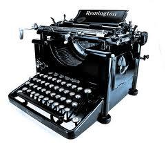 Maquina de Escrever Remington Reformada Antiga Raridade Fabricada no Ano de 1916