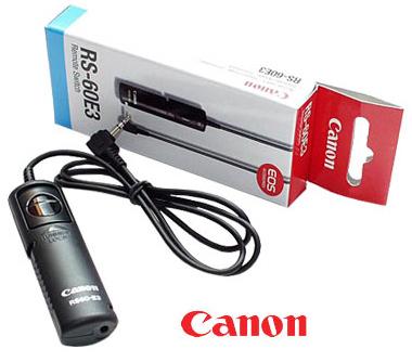 Controle Remoto Canon Mod. Rs-60 E3 Cód. 46Rconrs60E3