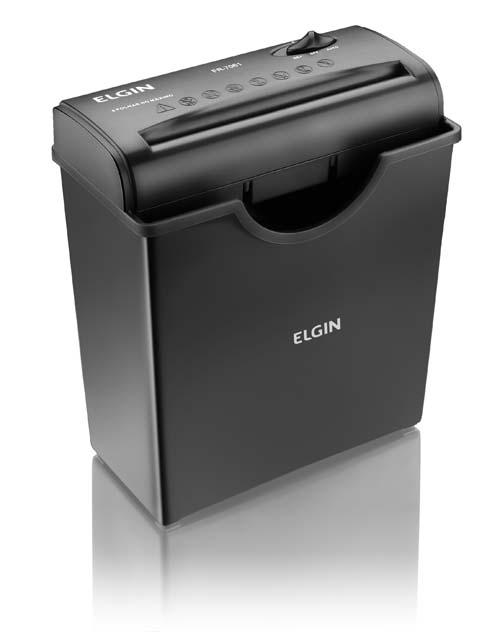 Fragmentadora Elgin Fr7061 110v até 6 Folhas Tiras 6mm Cesto 11L 1,6Kg