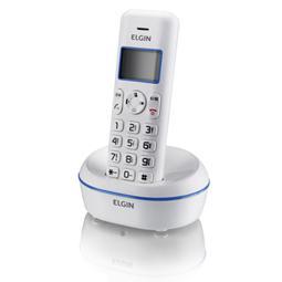Telefone sem Fio 1.9 ghz Identificador de Chamadas-Viva-Voz Elgin Tsf5001 Branco/Azul