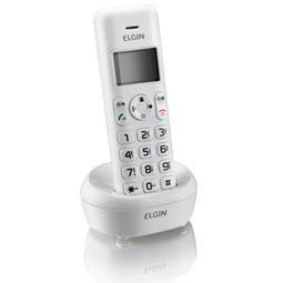 Telefone sem Fio Elgin Tsf5000R 1.9 ghz Identificador Viva-Voz e Ramal Tsf-5001