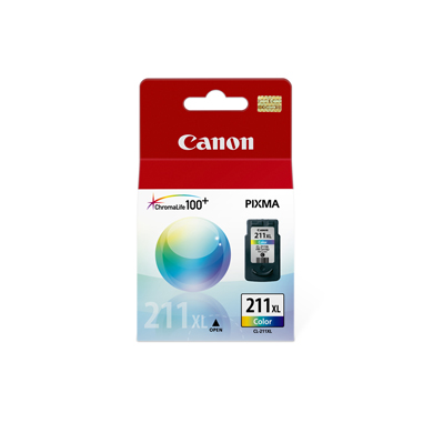 Cartucho de tinta Canon Elgin CL-211XL- Color iP 2700 MP 480 490 495 240 250 260 270 280 / MX 320 330 340 350 360 410 420