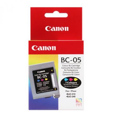 Cartucho de Tinta Canon Elgin Bc-05 (Tricolor) Bjc-200 Bjc-1000