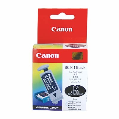 Cartucho de Tinta Canon Elgin Bci-11Bk ( Cx C/3 Unid ) Bjc 50 / 55 / 70 / 80 / 85