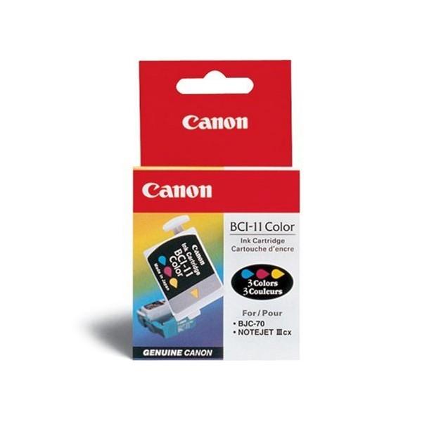 Cartucho de Tinta Canon Elgin Bci-11 Tricolor Cx 3 Unid