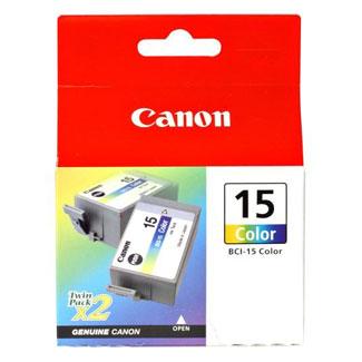 Cartucho de Tinta Canon Elgin Bci-15 Tricolor ( Cx C/2 Unid ) I70 I80 Ip90