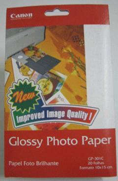 Glossy Photo Paper Gp-301C 10x15cm 20 Fls