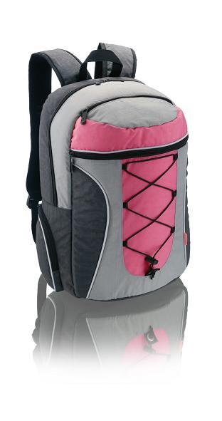 Mochila para Notebook Adventure Multilaser Bo089 Rosa e Cinza