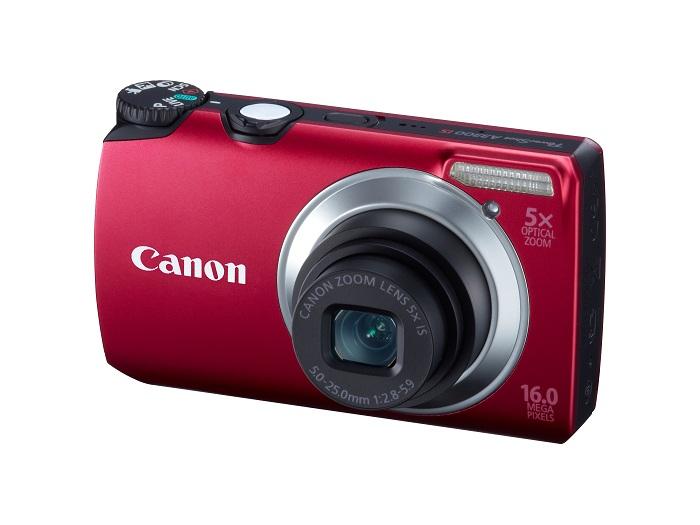 Câmera Digital Canon A3300 Is Black 46Ra3300Bk00 16,1mp Hd Lente 28mm e Cartão 4gb