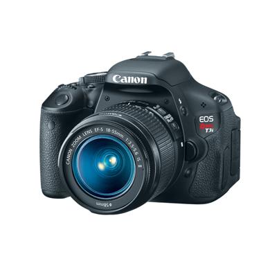 Câmera Digital Reflex Canon Rebel T3I 46Rrebelt3Ik CMOS 18mp Lente 18-55mm Full Hd