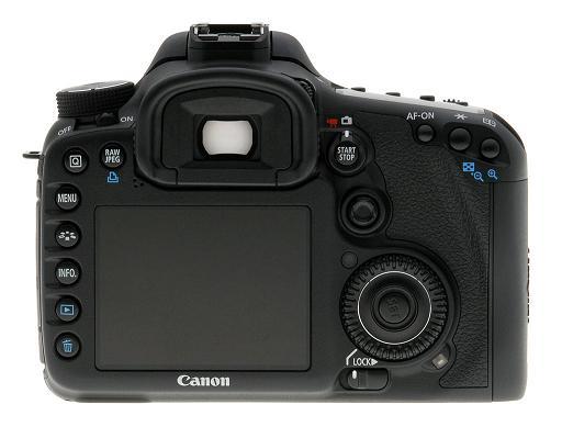 Câmera Digital Reflex Canon 7D 46R7D0000000 CMOS 18,0mp Full Hd Display 3,0 Hdmi