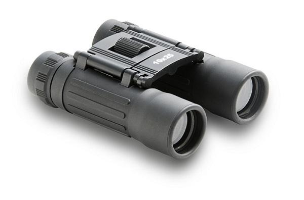Binóculo Elgin mod. D-10x25, cod. 46RBIND1025A Zoom de 10x, diâmetro da objetiva de 25 mm, Ângulo de visão de 5,8 graus, peso 225g