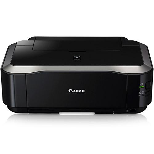 Impressora Jato de tinta Canon Elgin mod. iP4810 cod.46RIP4810100 Velocidade de impressão de 11 ipm em preto e 9,3 ipm em cores, resolução de 9600x2400 dpi, utiliza 5 cartuchos independentes, imprime