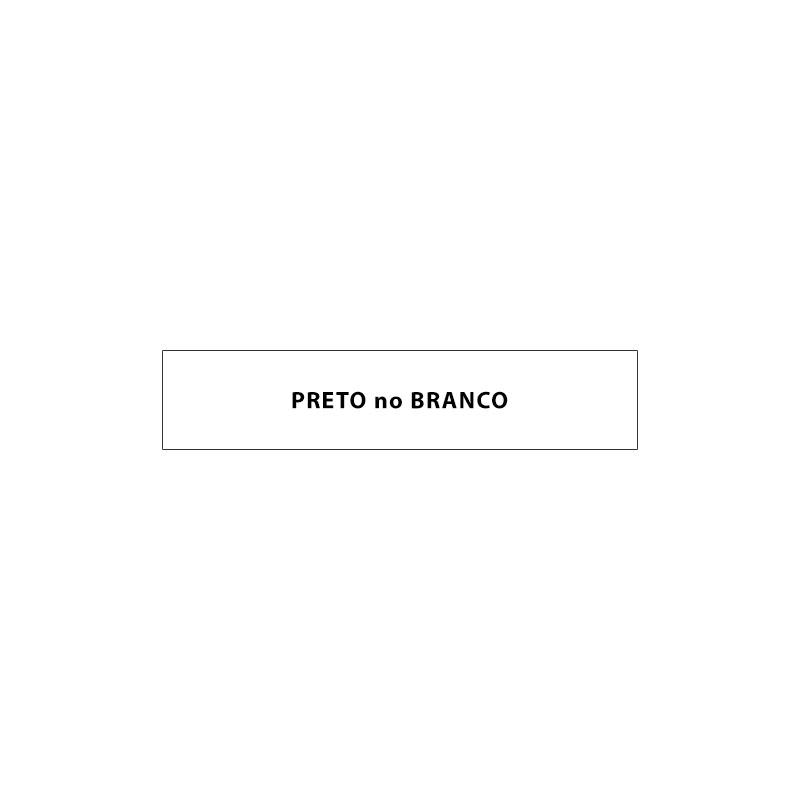 Fita Rotuladora Casio XR-9WE1 9mm preto no branco para etiquetadora KL