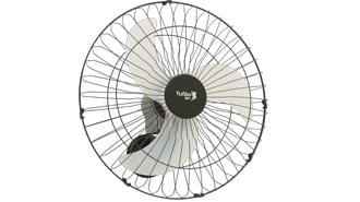 Ventilador de Parede Loren Sid Tufão 50cm de Diâmetro M1