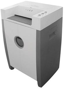 Fragmentadora de papel Security Winner II, corta cds, dvds, grampos, clipes de papel, até 22 folhas em partículas 4x38mm, Nível de Seg.: 3, Nível de ruído 60db