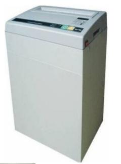 FRAGMENTADORA DE PAPEL SECURITY KX700 - Corta até 13 folhas em partículas de 2,9x15mm, cesto de 17 litros, fenda 220mm, 140W, N3