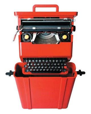Máquina de Escrever Manual Olivetti Valentine Reformada e Revisada Fabricação 1969