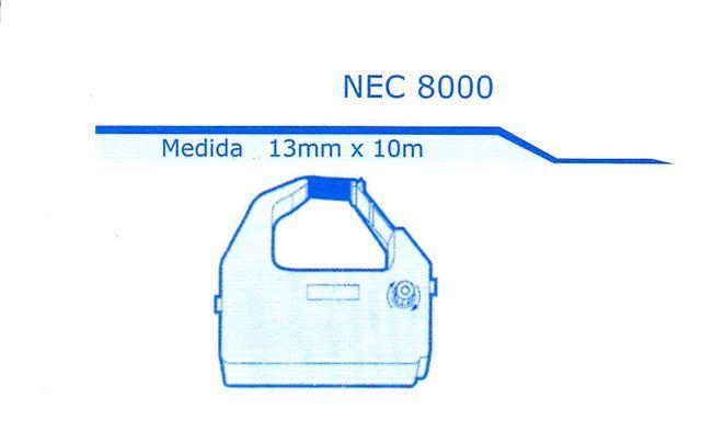 Fita Impressora Matricial Nec 8000 Menno Grafica (Cód. Mf 1240)