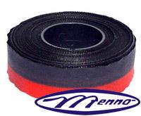 Fita P/ Máquina De Escrever Remington Preto Vermelho Nylon (Pvf) Menno Gráfica (Cód.: MF 200)