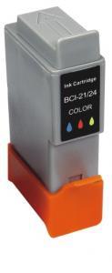 Cartucho Compatível CanonBci 21/24C Bjc I 320 S 330//200x Color Menno Gráfica