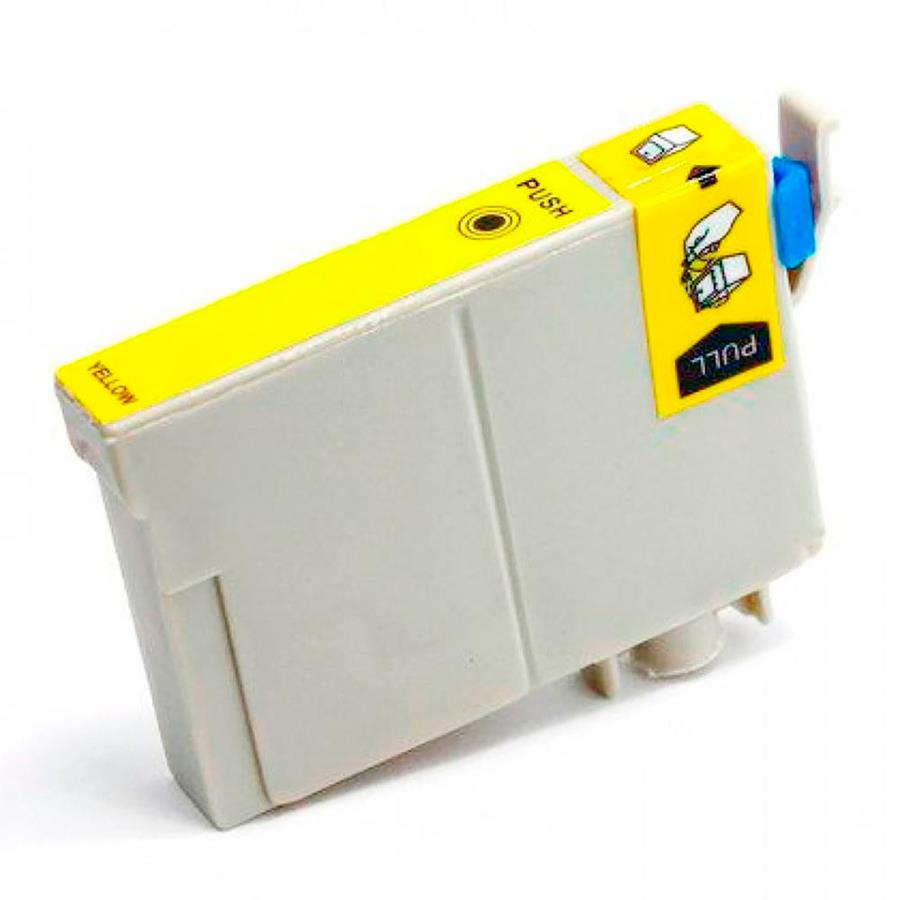 Cartucho Compatível Epson Stylus C 67 C 87 Cx 3700 Cx 4100 Cx 4700 Yellow Menno Gráfica